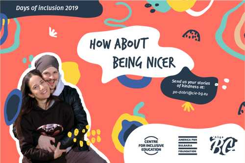 Days of Inclusion 2019 - How about being nicer?